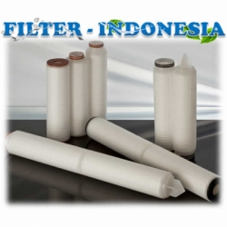 Pleated Filter Cartridge 045 micron 20 inch Filter Indonesia  medium