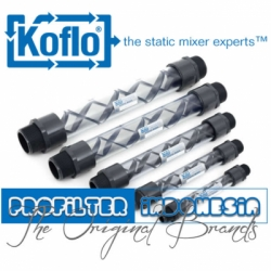 d Koflo Clear PVC Static Mixer Indonesia  medium